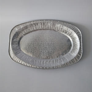 FB Fish Dish(midium)  Oval Dragon Design Fish Dish Oval Fish Dish //aluminum Foil Plate