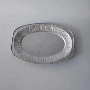 FBFish Dish(small) Aluminum Foil Oval Plate //Dragon Design Fish Dish Oval Fish Dish //aluminum Foil Plate