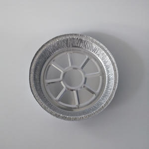 "FBDR21 1000ml Round Foil Containers 8"" Round  Pizza Pan"
