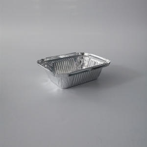 FB1310 250ml Disposable Rectangular Aluminium Foil Container