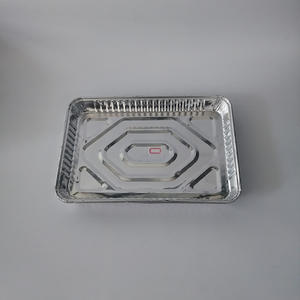 Factory wholesale products rectangular aluminium disposable plates cookie sheet