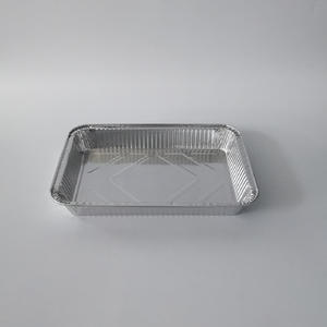 2100ml Rectangular Aluminum Take Out Containers