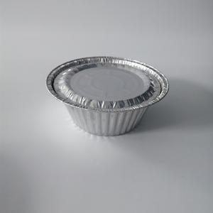 Factory wholesale products round aluminium foil container foil bowl