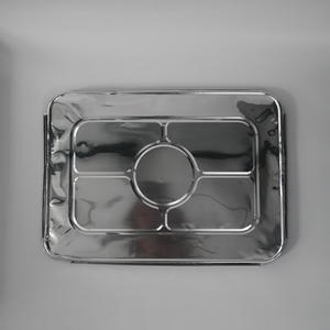 High quality household kitchen aluminum container with lid