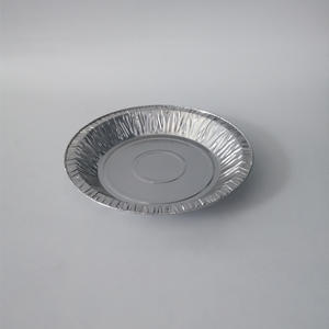 Factory wholesale products round aluminium foil container pie foil dishes