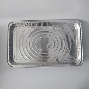 FB3353S 4700ml Full Size Shallow Tray //foil Container With Lid