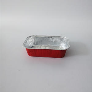 FB-S168A Airplane Foil Container,aluminum foil baking box