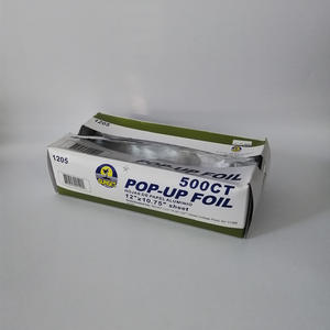 "FB Pop-Up Foil Sheets //12""*10.75""/sheet //200sheets/pack //500sheets/pack"