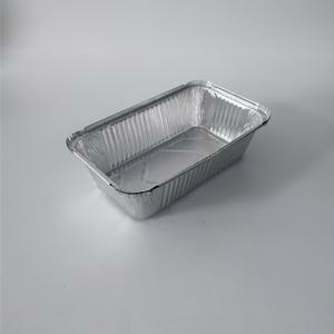 FB1525 470ml Rectangular Aluminium Foil Container