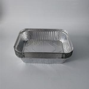 Factory wholesale products rectangular aluminium foil container