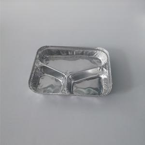 FB2318G 720ml //Multi-compartments Aluminum Foil Container 3 Compartment Container Fast Food Take Away