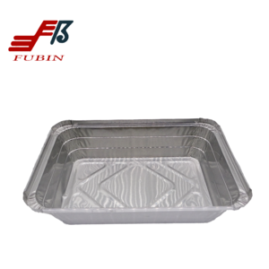 FB1622NEW Disposable Rectangular Aluminium Foil Container
