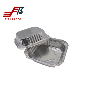 aluminium foil container lunch box and rectangular aluminium foil container