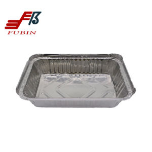 Microwave Oven Boxes Eco-Friendly Food Grade Containers Aluminum Foil Boxes