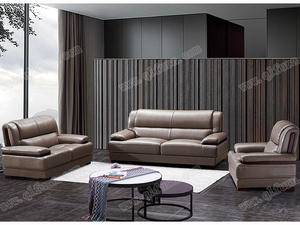 OEM wholesale Wooden Leather Sofa809 supplier