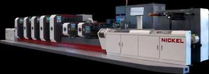 Nickel Intermittent Offset Label Printing Machine