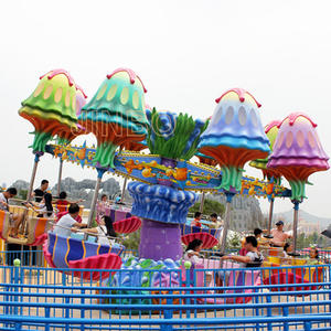 Funfair Rides Samba Happy Swing Jellyfish