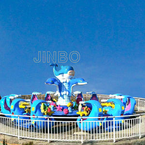 Jinbo Ride Rotating Guild Wars Shark Island Manufacturer