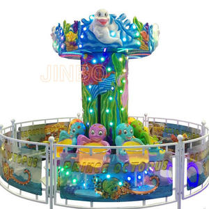Jinbo Ride LED Lighting Octopus Jumping Ride for Shopping Mall for Sale