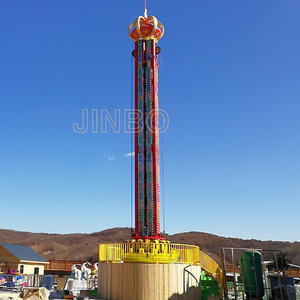 Jinbo Ride Amusement Free Fall Tower Rides Manufacturer