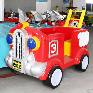 Jinbo Ride Fire Fighting Truck Ride for Shopping Mall for Sale