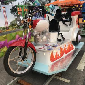 Jinbo Ride Amusement Park Electric Crazy Moto Kiddie Rides Manufacturer