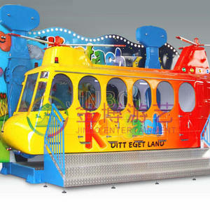 Jinbo Ride Amusement Park Crazy Air Bus Rides Manufacturer