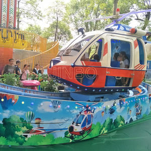 Jinbo Ride Theme Park Children Automatic Aircraft Rides Rotary Supplier
