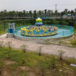 Jinbo Ride Mill Turntable Rides Attractions Price for Sale​​​​​​​