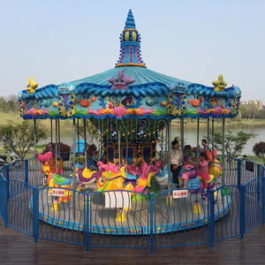 Jinbo Ride Animal Design High Quality Carousel