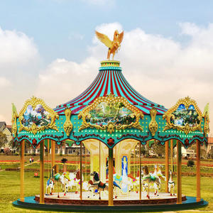Jinbo Ride Single Deck Merry Go Round