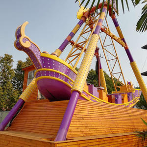 Amusement Park Full Specification And Capacity 24 Seats Pirate Ship Viking Ride Manufacturer And Supplier