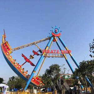 Jinbo Ride Pirate Ship Ride Manufacturer