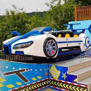 Indoor Or Outdoor Amusement Park Racing Mini Car Sliding On Track For Sale