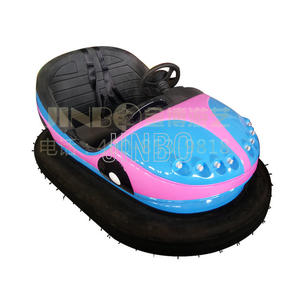 2 Seats Electric Bumper Cars For Kids And Adults Small Theme Park Rides For Sale