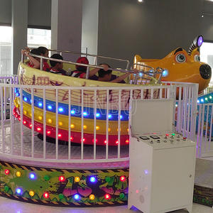 mini disco tagada turntable crazy dancing and happy swing ride for children