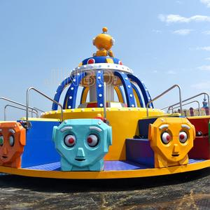 Jinbo Ride Outdoor Amusement Park Attractions Gyro Disco Exporter