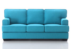 ODM 3 seater leather sofa manufacturer make in China.
