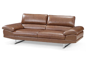 ODM genuine leather couches manufacturer make in China.
