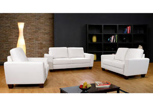 ODM leather sofa set manufacturer make in China.