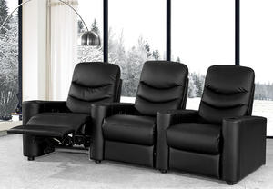 Modern Leather Sofa Manufacturer Recliner 0454