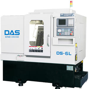 DS-6L Slant Bed CNC Lathe Make In China With Strong Vibration Resistance