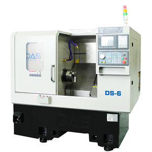 DS-6 Slant Bed CNC Lathe With Less Space Occupation For Processing Industry