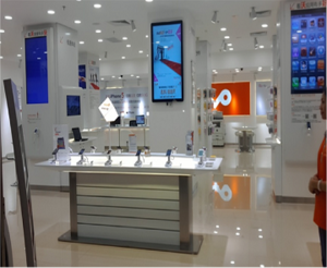 China Unicom | Phone Display, Cell Phone Store Fixtures