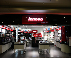 Lenovo-Electronics Store Display Furniture Solution | Retail Store Design