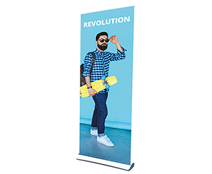 Nimlok-Revolution Retractable Banner Stand