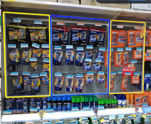 Gillette-Intelligent Lighting Smart Shelf Interactive Display