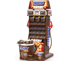 Mars Wrigley |  Display Stand Manufacturer, Portable Display Rack