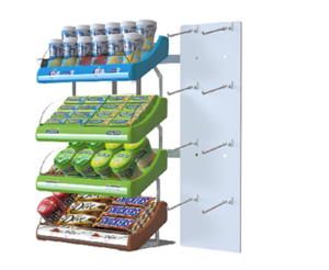 Mars Wrigley | Retail Display, Retail Display for Candy