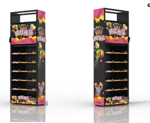 Mars Wrigley-Candy End Frame Display Racks For Sale